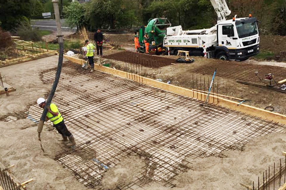 New Build Foundations