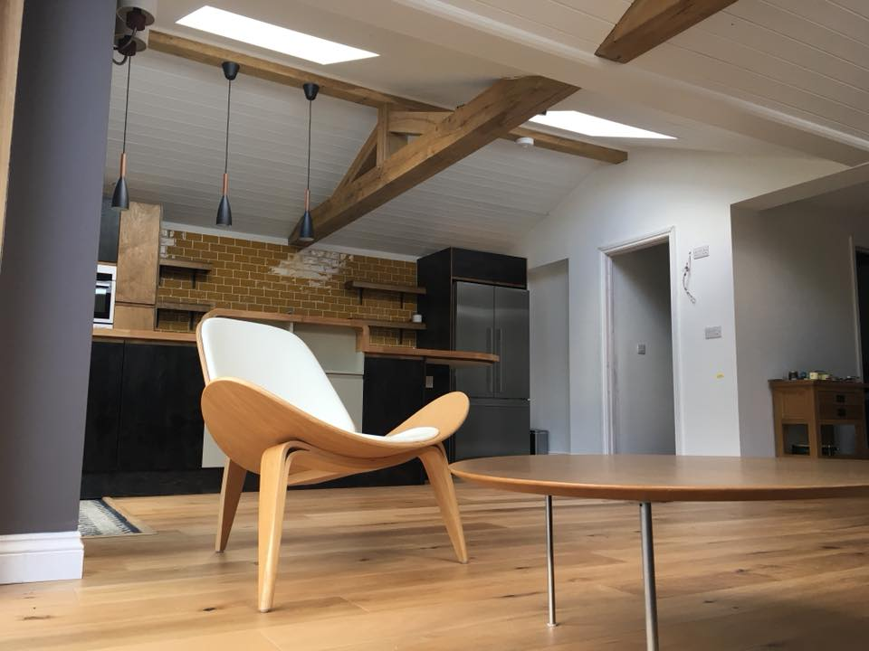 Oak Framed Extension Project